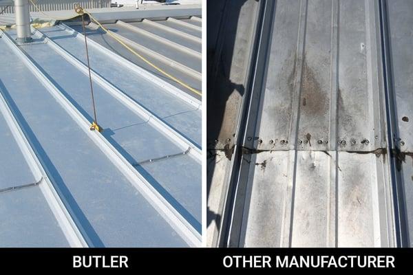ACE Roof Panel Splice metal roof