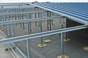 ACE Butler Manufacturing Slope Build-Up ReRoof