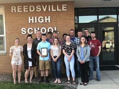 Reedsville high school youth apprenticeship students