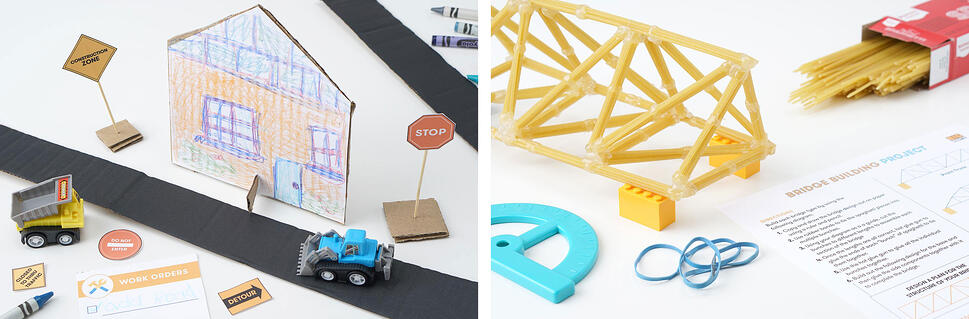 Ideas for construction themed activities