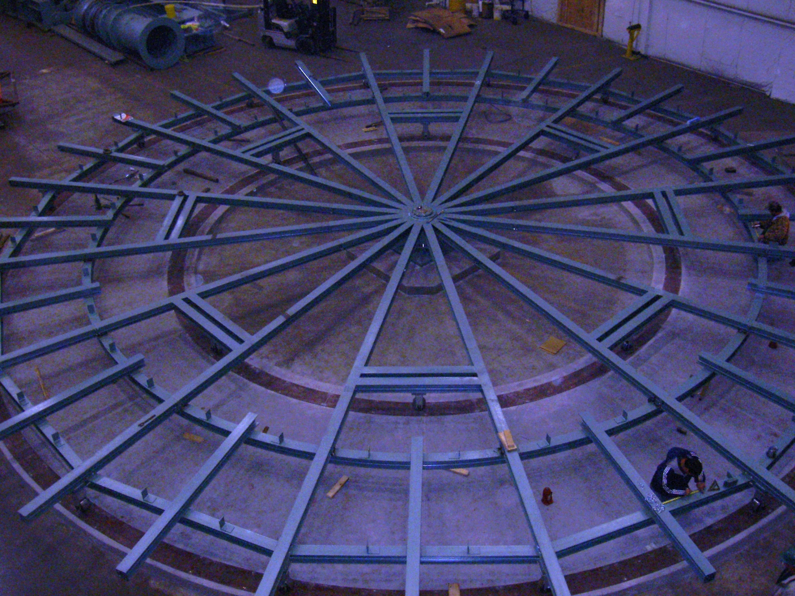 Specialty projects from ACE Building Service includes carousel foundation construction