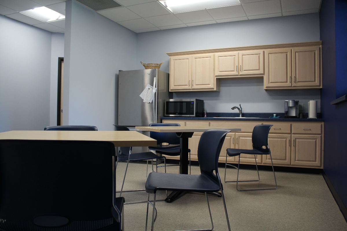 Interior building maintenance services from A.C.E. Building Service includes the addition of small offices, and partition walls