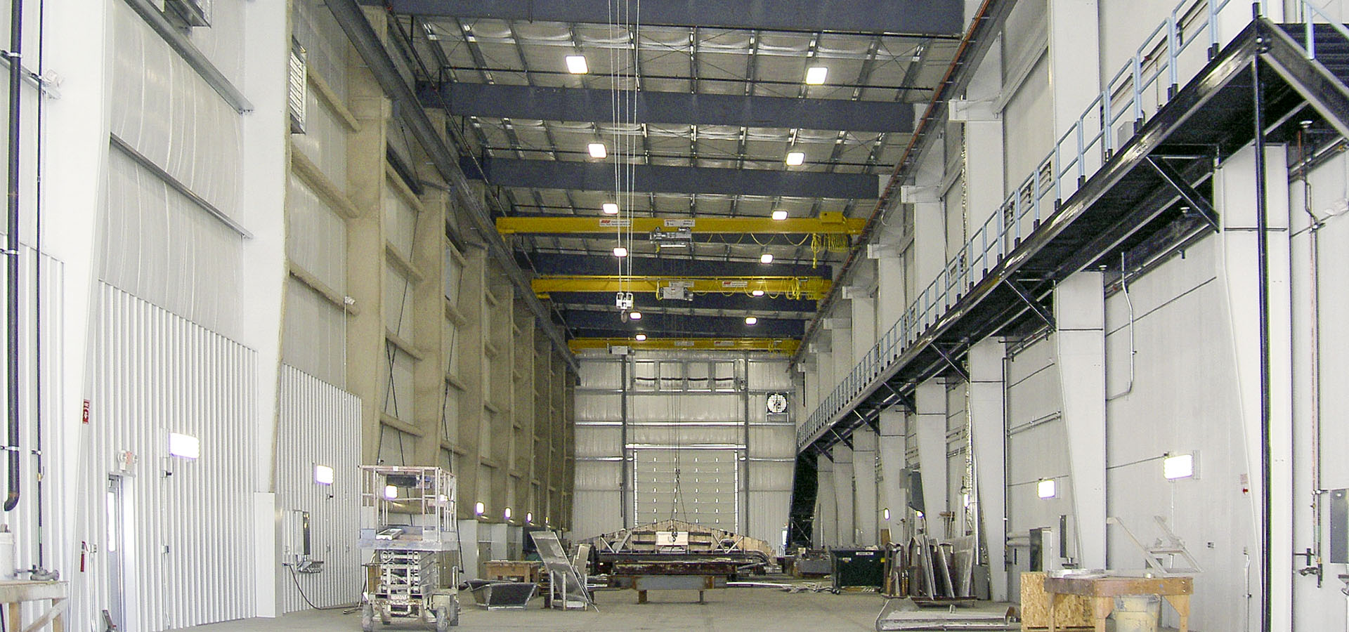 manufacturing facility design and construction
