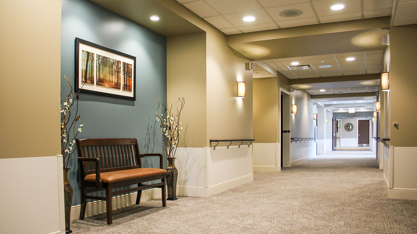 Shady Lane Assisted Living Hallway   A.C.E. Building Service