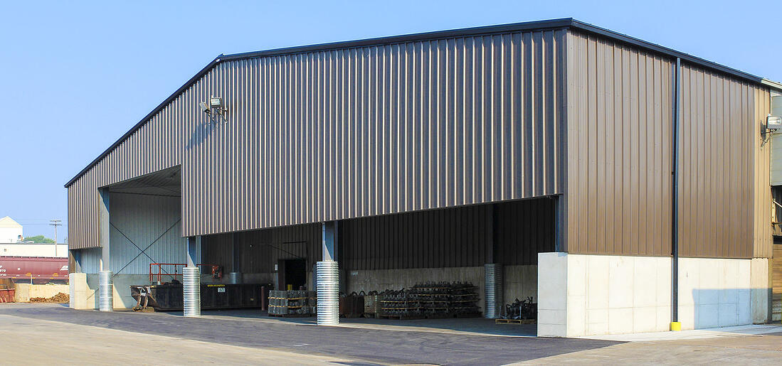 Manitowoc Grey Iron Foundry | ACE Building Service