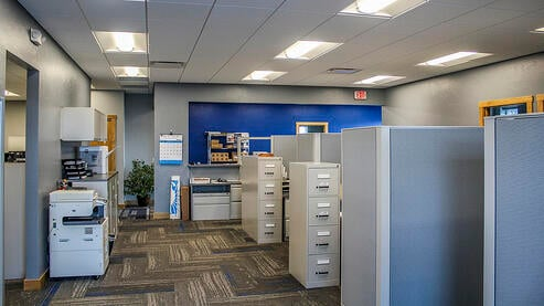 A C E  Completes New Offices for Schaus Roofing and Mechanical