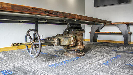 Schaus Roofing and Mechanical Conference Table | A.C.E. Building Service