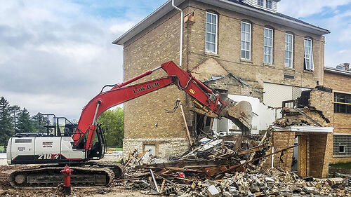 St. John-St. James Evangelical Lutheran School demolition | A.C.E. Building Service