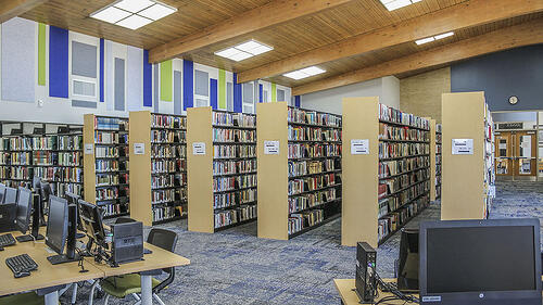 University of Wisconsin - Manitowoc library