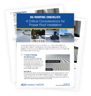re-roofing checklist preview