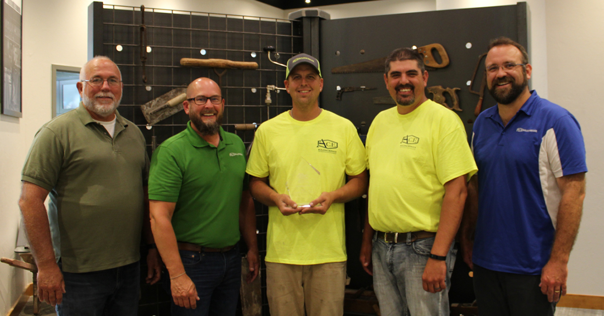 A.C.E. Building Service's Jameson Free Wins ABC of Wisconsin's Apprentice of the Year Award
