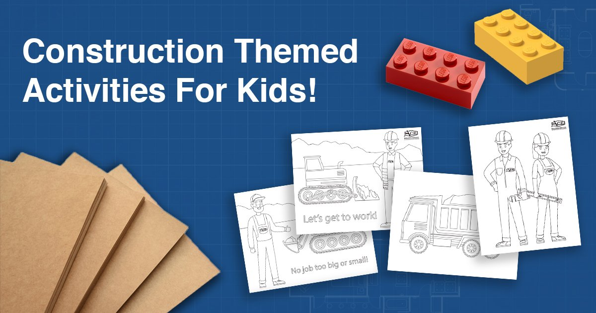 Fun Construction Themed Activities For Kids