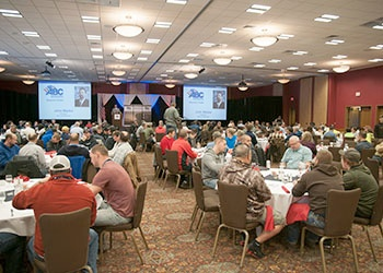 A.C.E. Building Service employees attend ABC trade conference