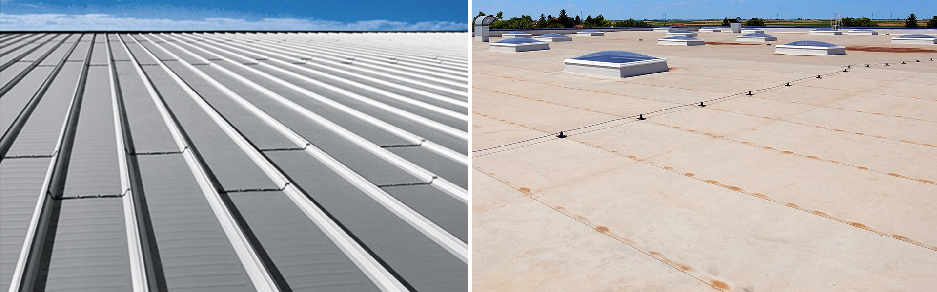 Re-Roofing: Commercial Metal Roof vs Commercial Flat Roof
