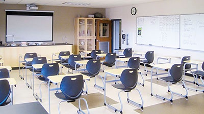 Manitowoc Lutheran High School | Science Wing Renovation | A.C.E. Building Service
