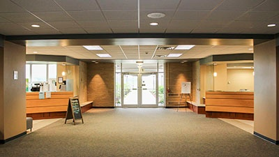 Holy Family College Welcome Center | Manitowoc, Wisconsin | A.C.E. Building Service