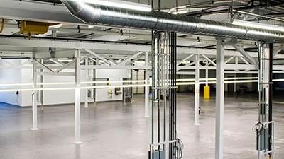 Ironwood Plastics Factory Renovation | A.C.E. Building Service | Manitowoc, Wisconsin