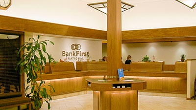 Bank First National Corporate Office Renovation | A.C.E. Building Service
