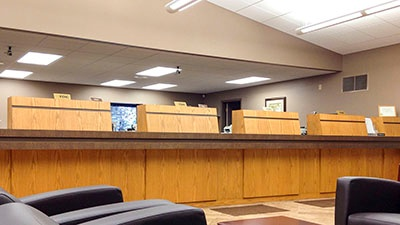 Denmark State Bank Renovation | A.C.E. Building Service | Manitowoc, Wisconsin