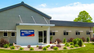 Mechanical Research and Design | Office Renovation | A.C.E. Building Service | Manitowoc, Wisconsin