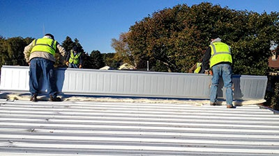 Michaels Construction Re-Roof | A.C.E. Building Service
