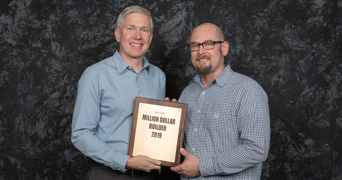 A.C.E. was recognized as a million dollar builder by Butler Manufacturing