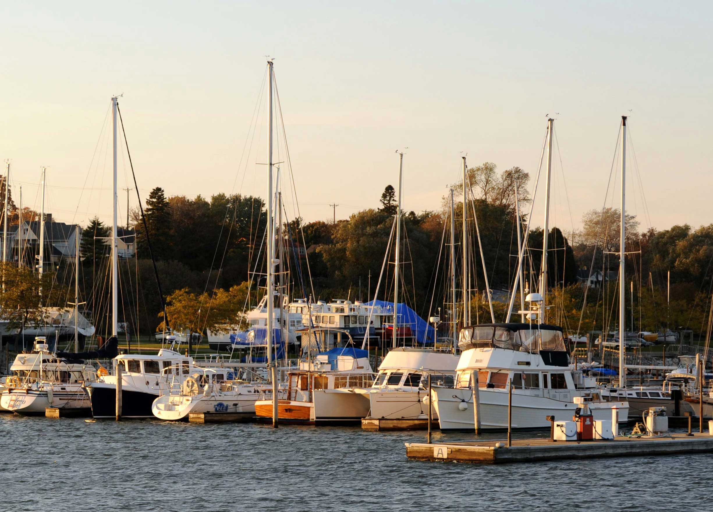 Manitowoc Marina dock updates with A.C.E. Building Service